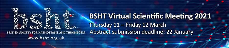 2021 BSHT Virtual Scientific Meeting